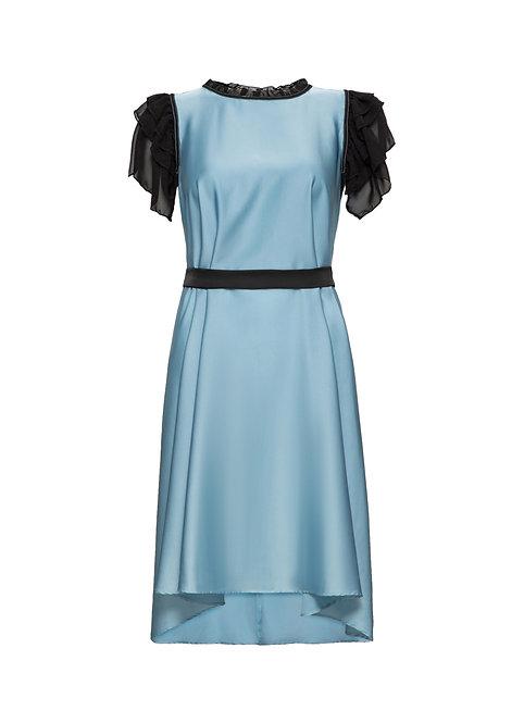 Sky Blue Jewelry Dress