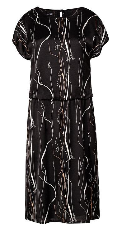 Black 80's Dress