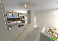 T3 Apartment Type 3 - Dining, Kitchen and Living.JPG