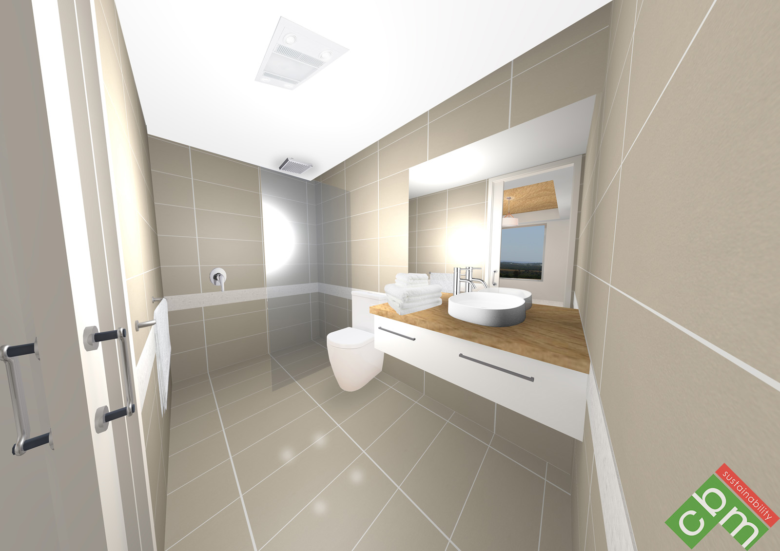 T1 Apartment Type 1 - Bathroom.JPG