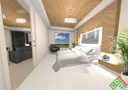 T2 Apartment Type 2 - Bedroom 1.JPG