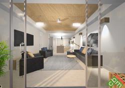 T2 Apartment Type 2 - Living & Deck.JPG