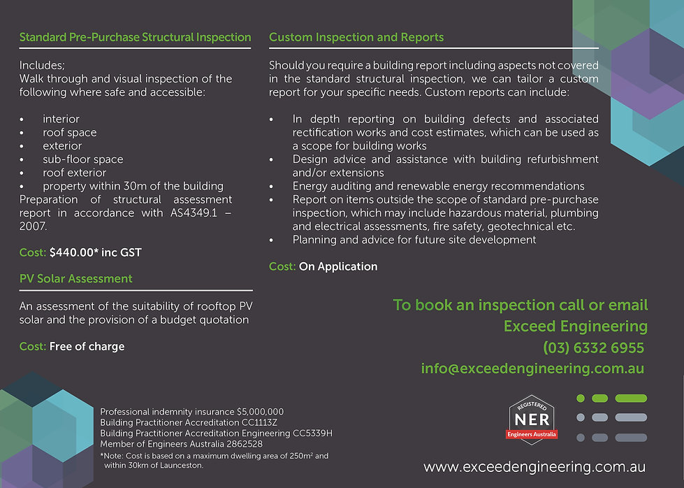 Exceed Engineering Structural Inspection