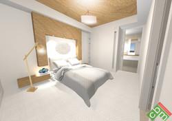 T1 Apartments Type 1 - Bedroom 2.JPG