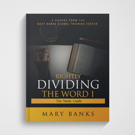 Rightly Dividing the Word I - Course