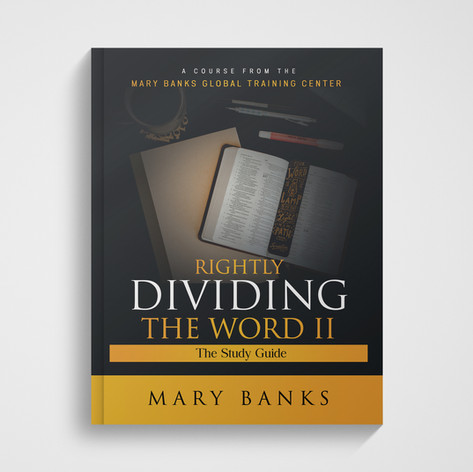Rightly Dividing the Word II - Course