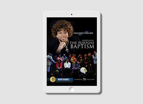 Discipleship: The Purpose Baptism - E-Book