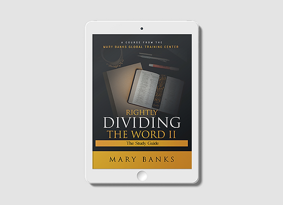 Rightly Dividing the Word II -  E-Book