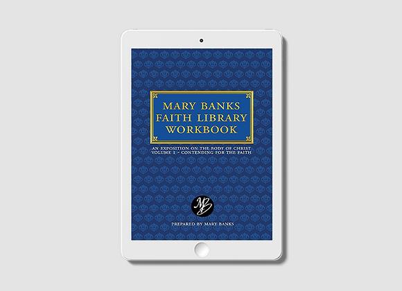 Mary Banks Faith Library Workbook: Contending for the Faith -  E-Book