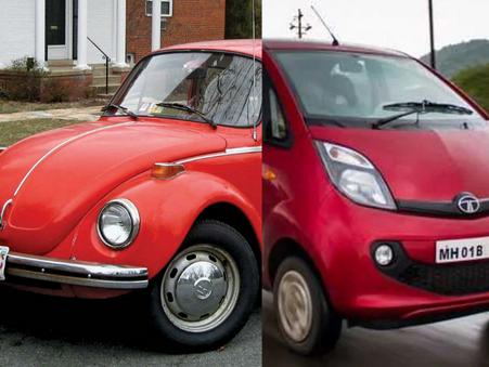 Case In Point: Volkswagen Beetle vs Tata Nano