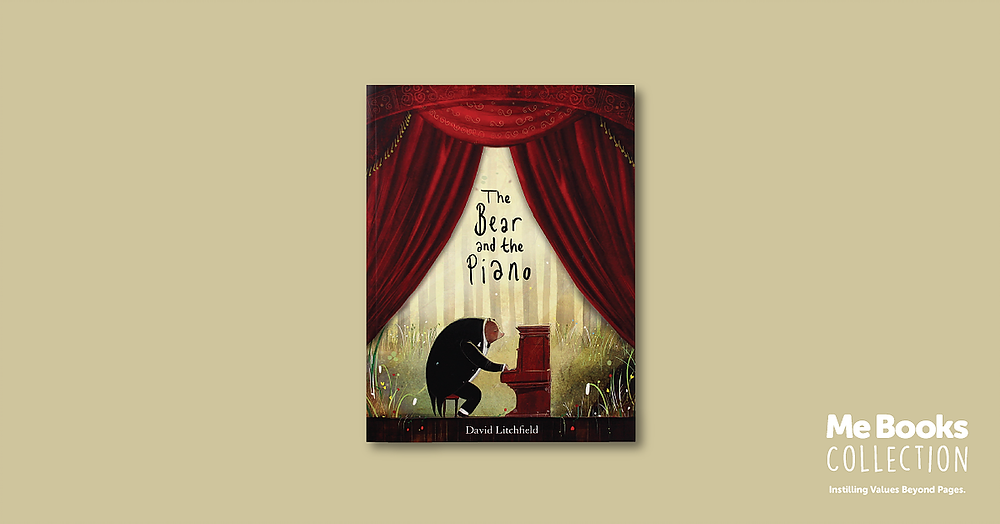 Me Books Collection - The Bear and the Piano