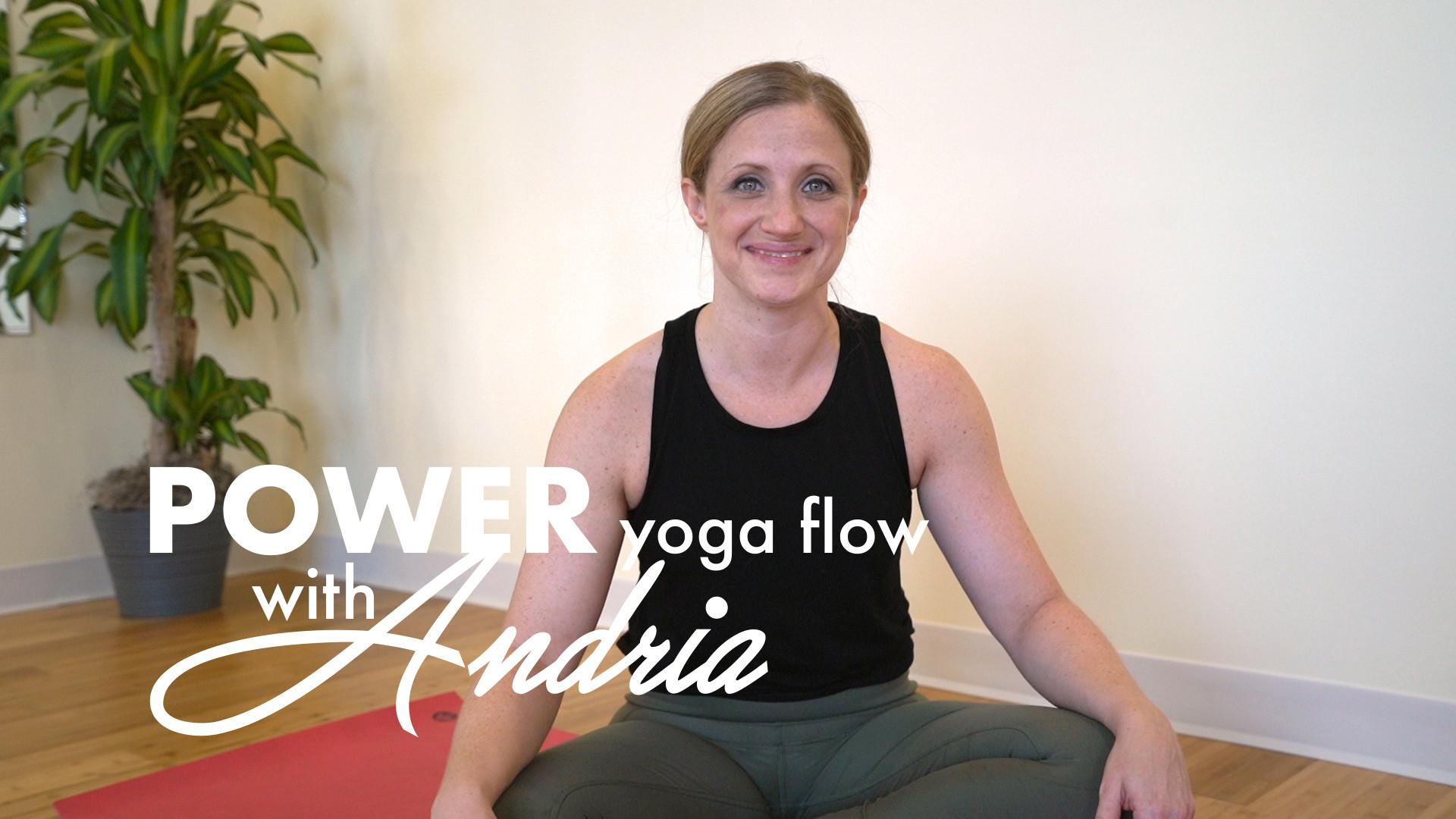 POWER YOGA FLOW: ANDRIA [part I]