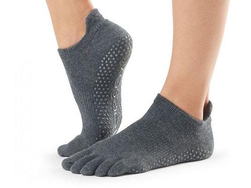 Charcoal Grey - Full Toe Low Rise