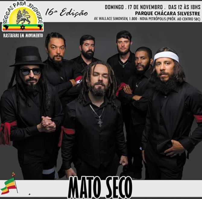 Mato Seco faz show em São Bernardo