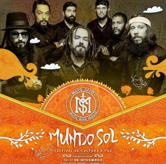 Banda Mato Seco é um dos destaques do festival Mundo Sol