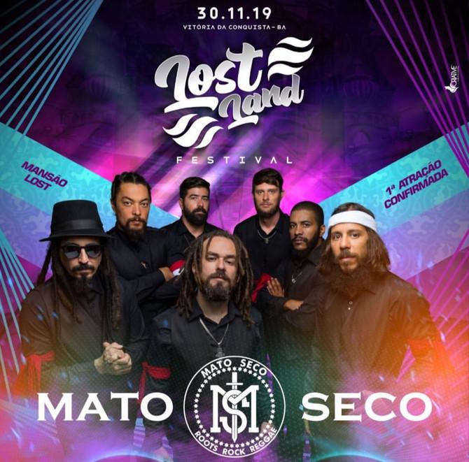 Banda Mato Seco se apresenta em Vitória da Conquista