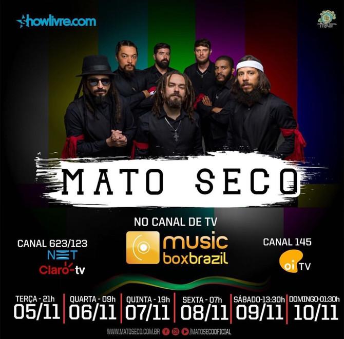 Mato Seco fez apresentação no Show Livre