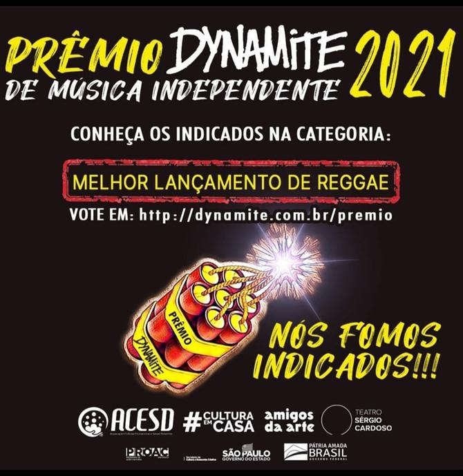 Fomos Indicados ao Premio Dynamite de Música Independente