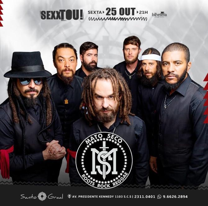 Banda Mato Seco se apresenta em São Caetano