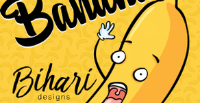 Bihari Designs – Slippery Banana 7″ Slipmat + Looper
