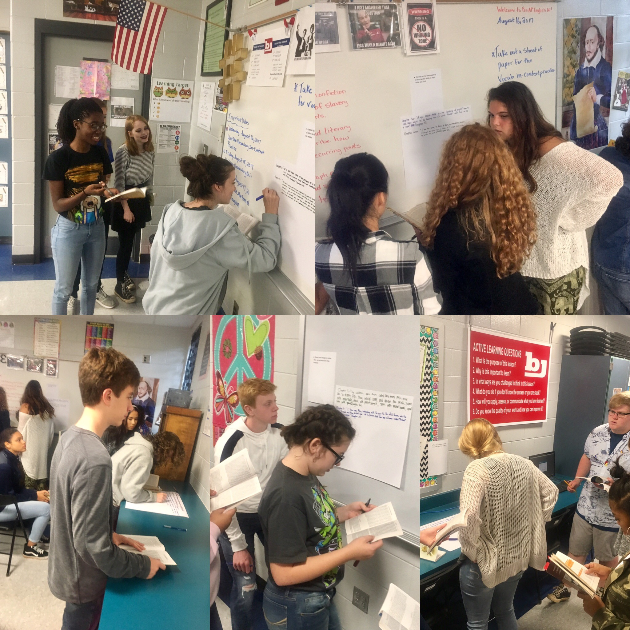 PreAP English 10 - Carousel Activity