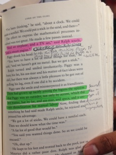 AP Literature - Text Annotation