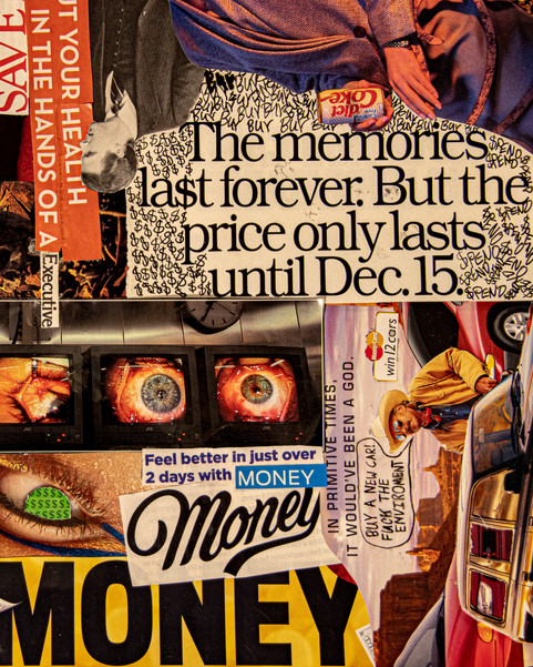 Capitalist Collage Detail 4