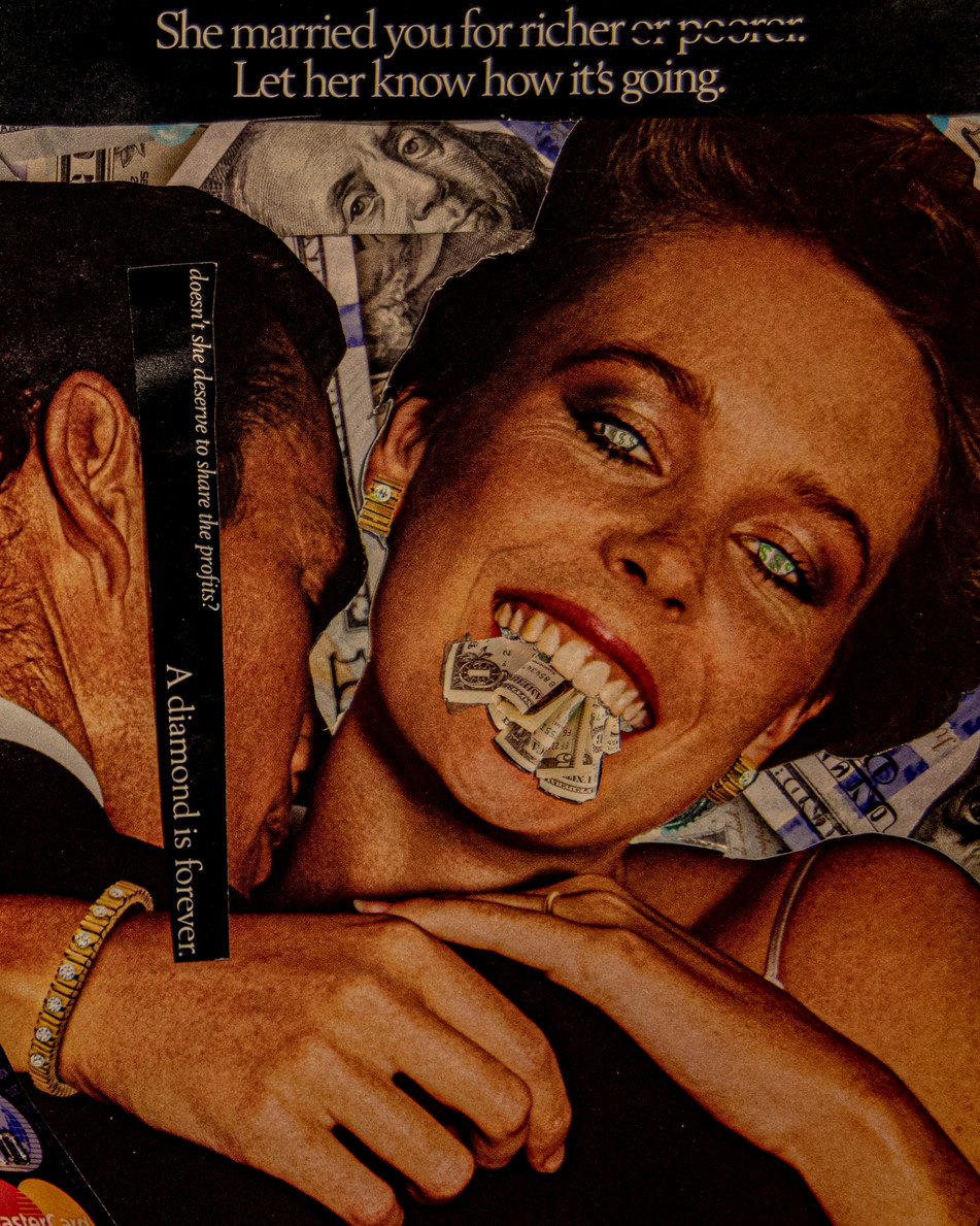 Capitalist Collage Detail 1