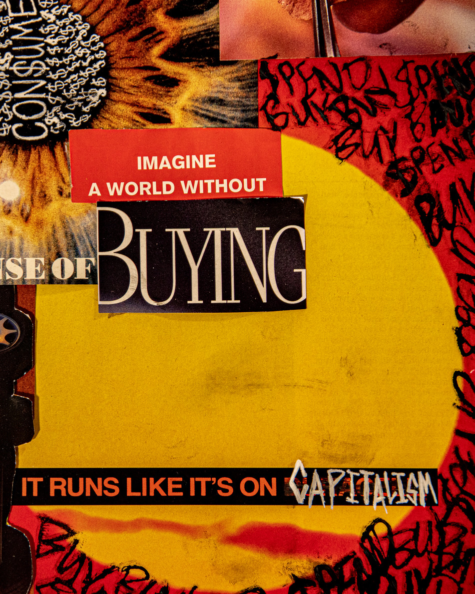 Capitalist Collage Detail 6