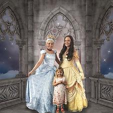 Jazz and Christie princesses with birthday girl.jpg