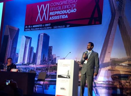 XXI Congresso Brasileiro de Reprodução Assistida.