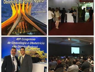 Dr. Vinicius Medina Lopes participa do 48º Congresso de Ginecologia e Obstetrícia do Distrito Federa