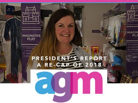 President Report 2019 - AGM