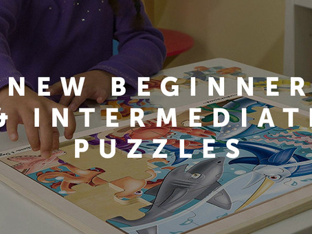 New Beginner & Intermediate puzzles