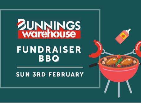 February Bunnings BBQ Fundraising Event