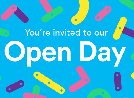Join the fun at our Open Day!