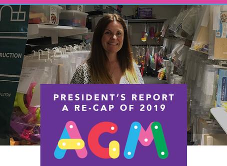 President Report 2020 - AGM