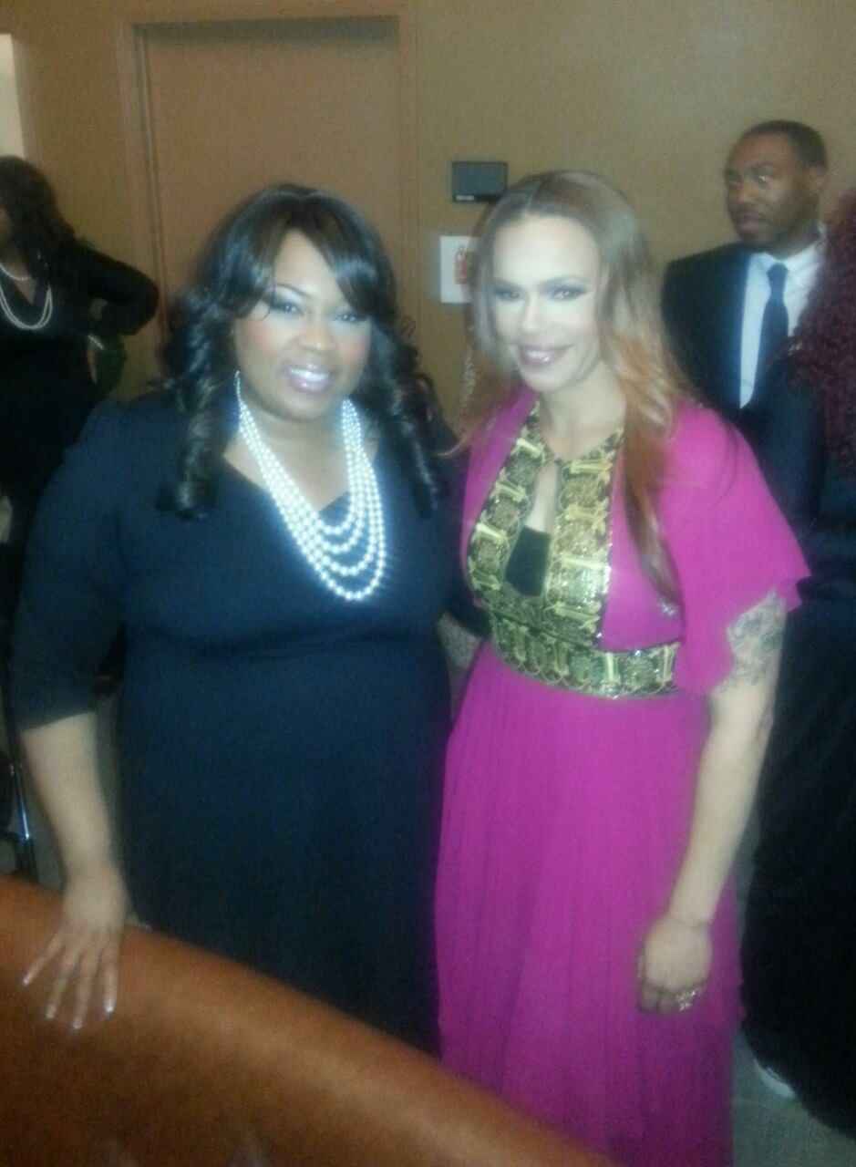 Shree w Faith Evans