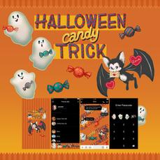 Halloween candy TRICK