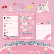 Happy BIRTHDAY MENU