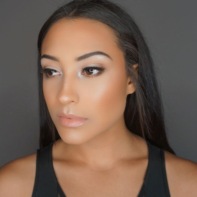 Absolutely love this super natural dewy summer look I created on _jaydelyncearra