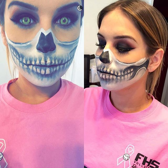 Such a beautiful person inside and out... Half skeleton and all💀