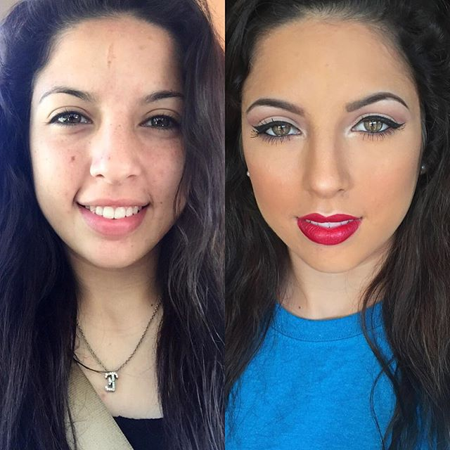 A little before and after transformation for the Queen 👑 so beautiful before and after _esmeralda_j