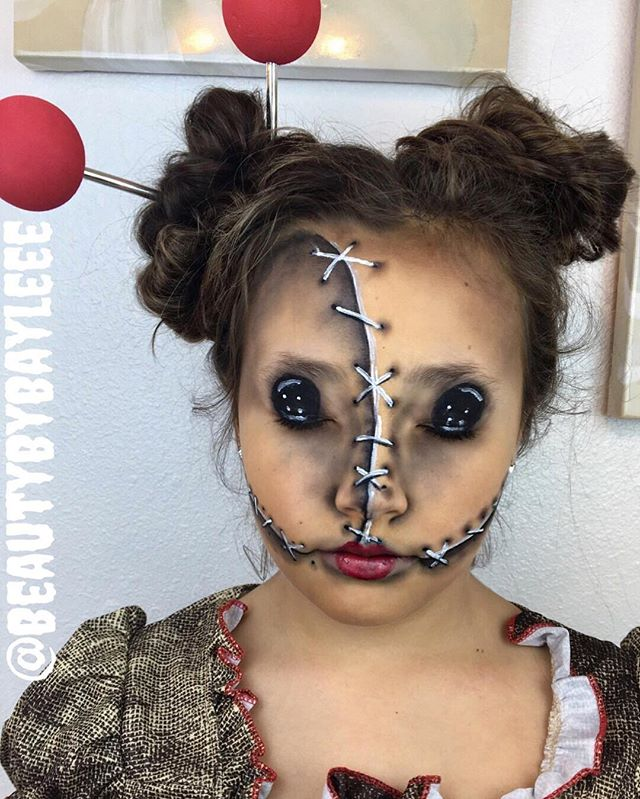 Voodoo Doll 🔮 love making my girl up!!