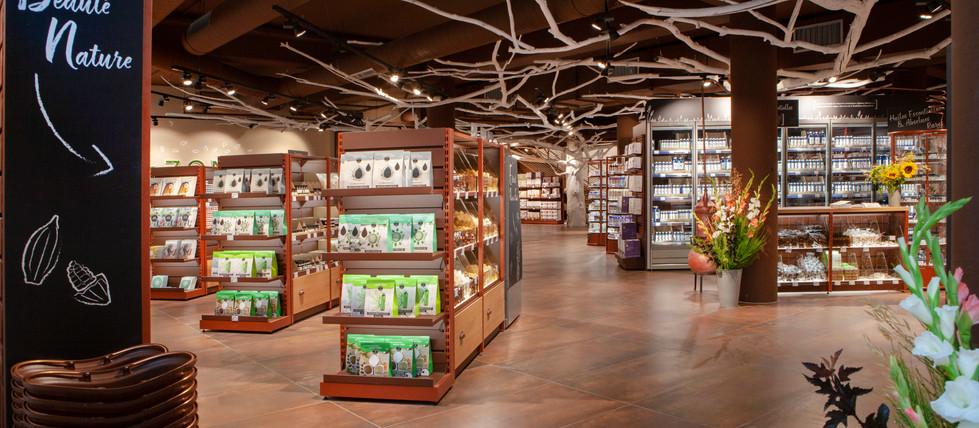 CLV rayon magasin cosmetiques bio AROMA ZONE LYON