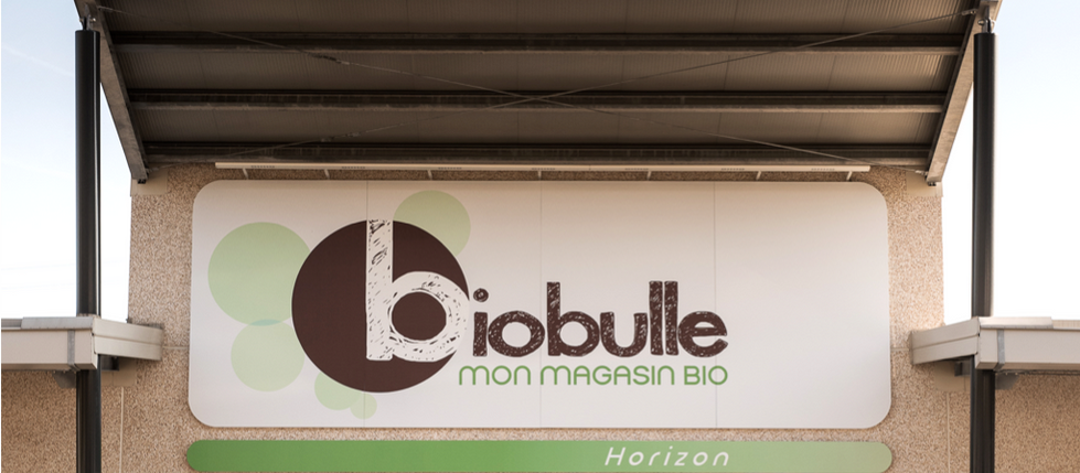 Enseigne dibon Biobulle saint laurent du var