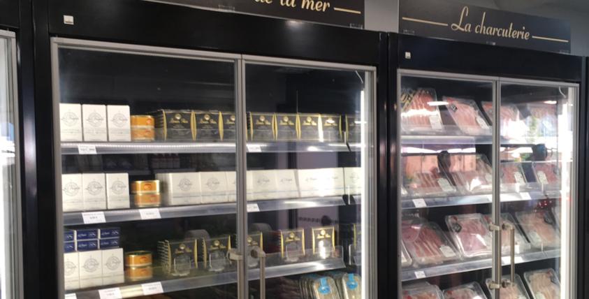 Frigo épicerie fine et produits frais Laurent Primeur