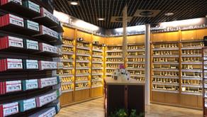 Remodeling de la boutique historique de la marque Aroma-Zone à Paris Odéon