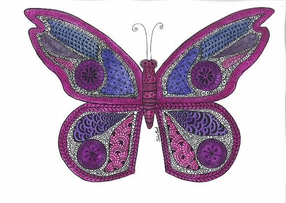 Butterfly - Framed Original