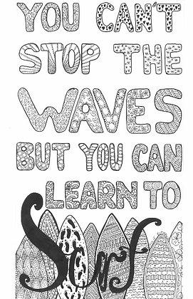 Surf - Unframed Print